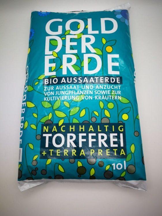Bio-Anzuchterde für Microgreens & Sprossen - 10l
