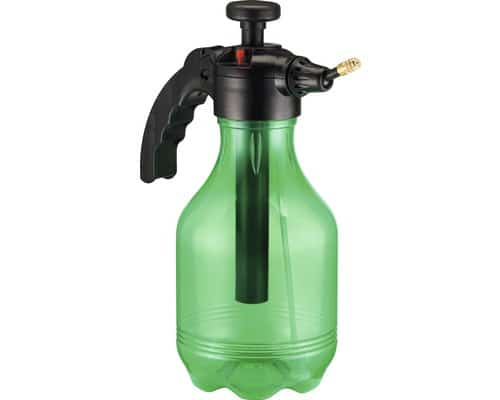 Hochwertiges Druckspeicher-Sprühgerät in Grün mit 1,75 Liter Fassungsvermögen
