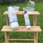 Reinigung von Microgreen-Trays mit Wasserstoffperoxidlösung (H2O2)
