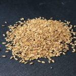 Bio Saatgut Goldlein. Keimsaat für Sprossen und Mikrogrün. Keimsprossen