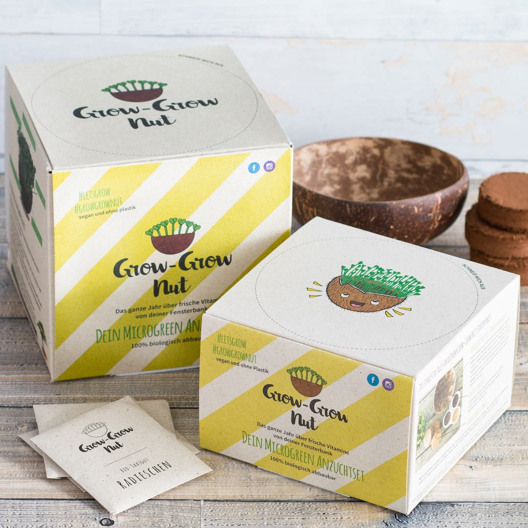 Grow-Grow Nut Starterpaket