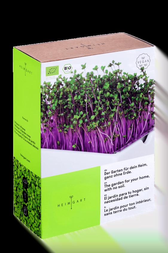 Heimgart Starter-Kit Verpackung