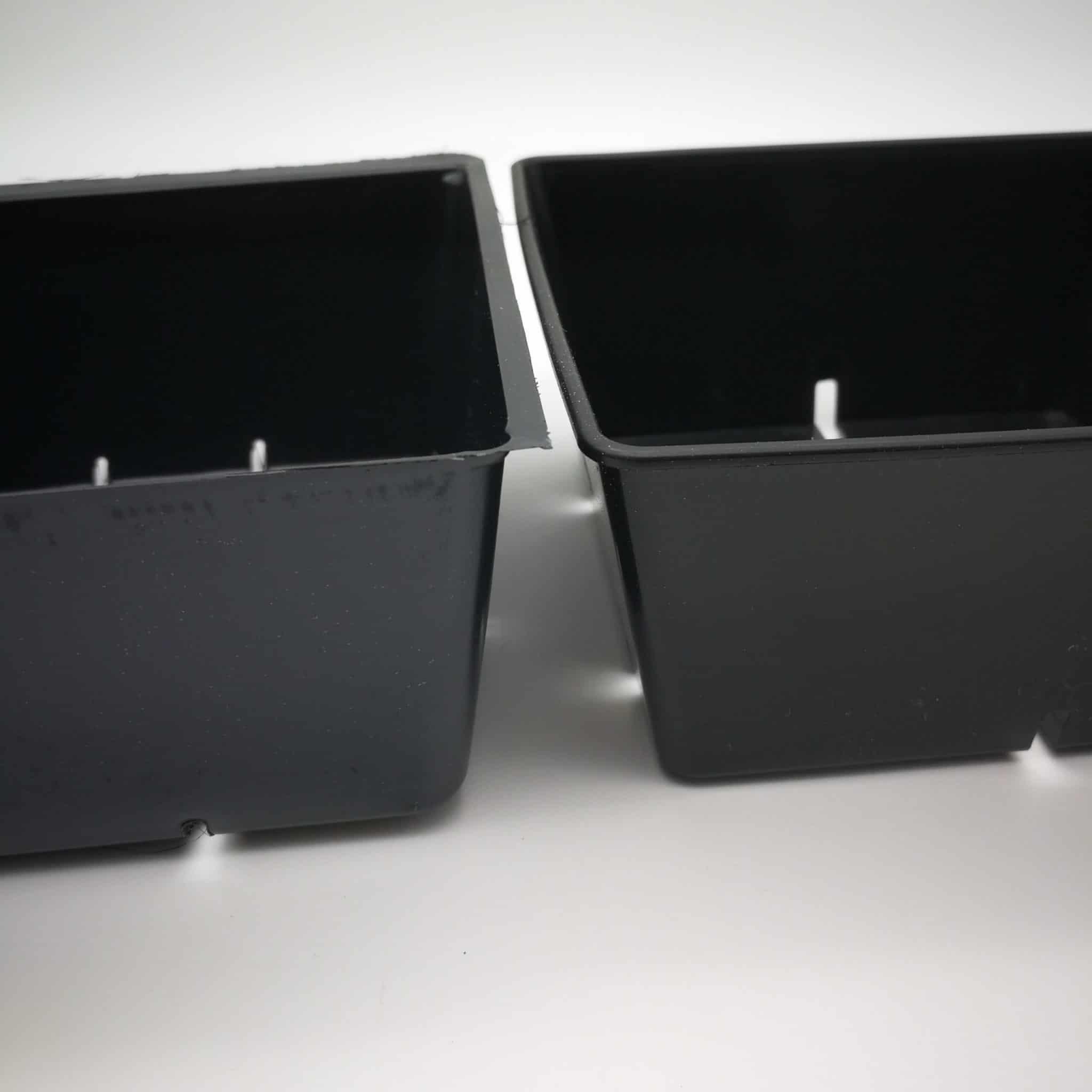 Vergleich Microgreen Tray 5x5 & Microgreen Topf