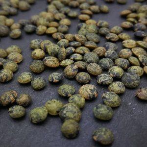 Bio-Microgreen und Sprossen Saatgut Grüne Linsen. Gute Keimfähigkeit!
